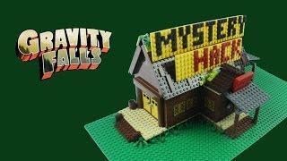 gravity falls the mystery shack lego replica