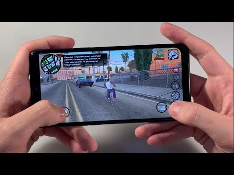 Игры Samsung Galaxy A10s (GTA:SanAndreas, PUBG:Mobile, NFS)