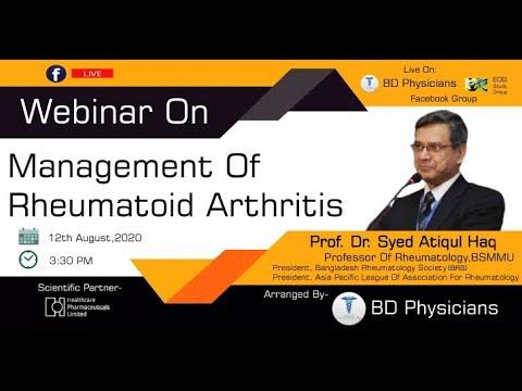 Management Of Rheumatoid  Arthritis