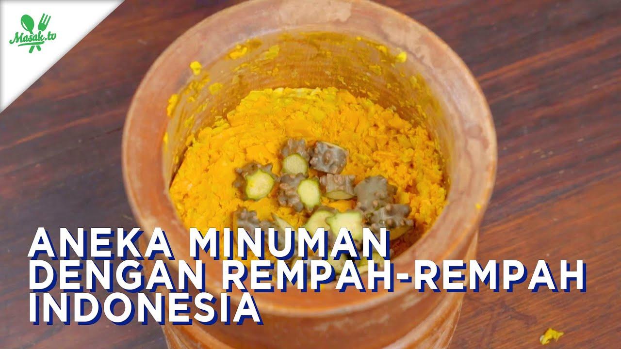Resep Aneka Minuman dengan Rempah-Rempah Indonesia