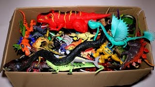 Big Toy Box: Dinosaurs, Dragons, Wild Animals and More!