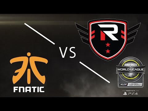 FNATIC vs Rise Nation - CWL Global Pro League - Group Blue - Day 2