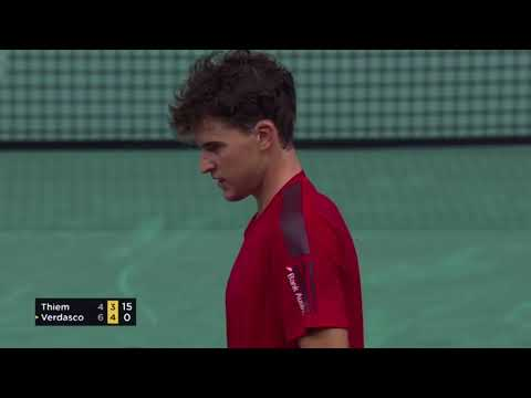 Dominic Thiem vs Fernando Verdasco highlights | Paris 2017 R3