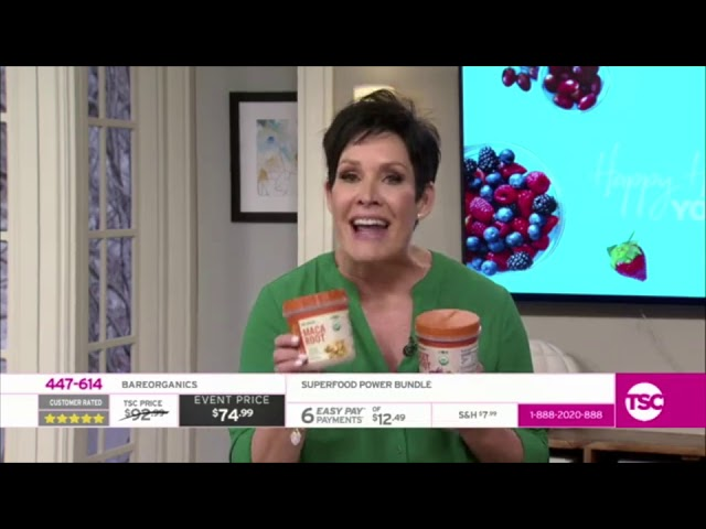 BAREORGANICS® Superfoods on TSC Shopping Channel