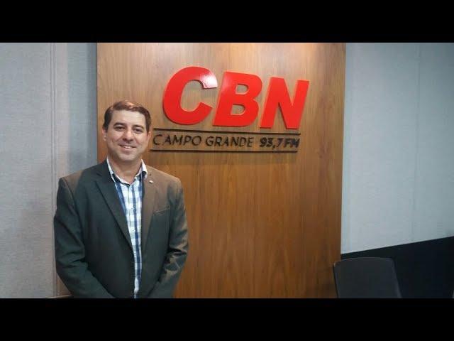 Entrevista CBN Campo Grande: Rodrigo Cazelli, presidente CRA-MS