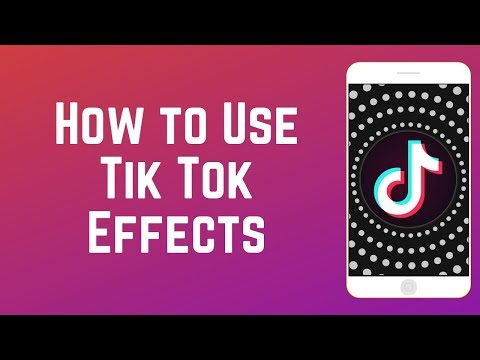 How To Add Effects To Tik Tok Videos New Features Youtube