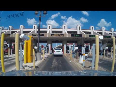 Border Crossing, Laredo, Mexico-US