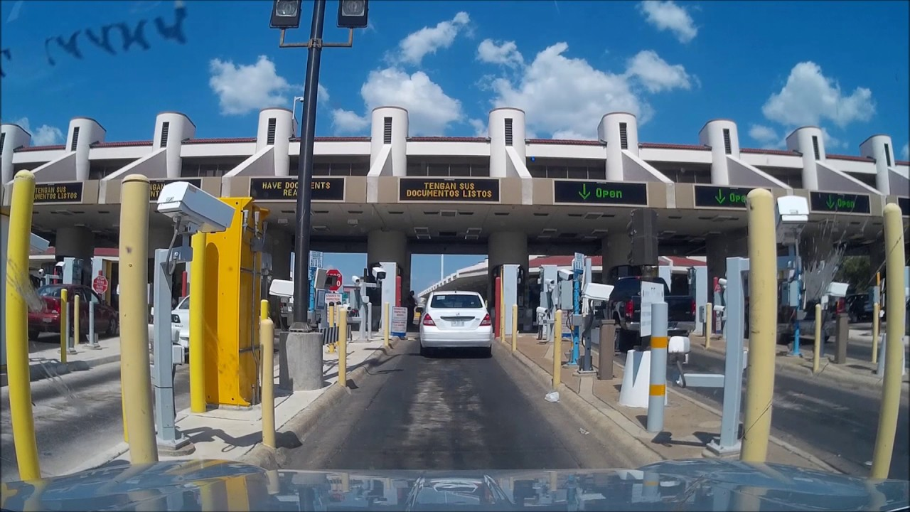 Puentes Internacionales Nuevo Laredo (MX) <-> Laredo (USA)