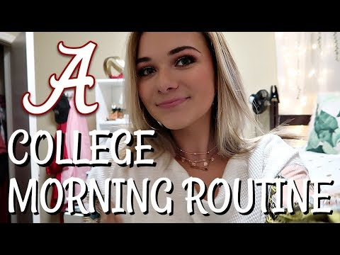 MY COLLEGE MORNING ROUTINE | 2018