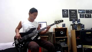 IKAN DI LAUT ASAM DI DARAT - A.TALIB & NORLELA NASIR - Bass Guitar Cover - Lan Modar # 56