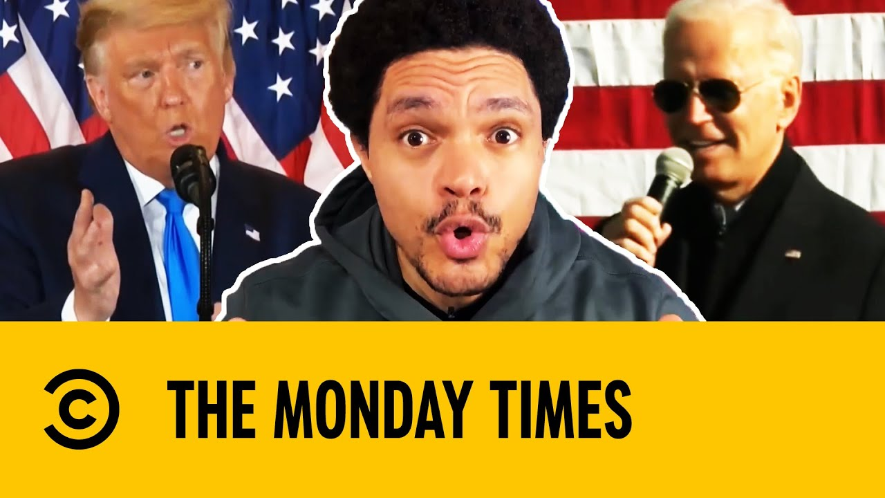 The Monday Times: US 2020 Election, Trump, Biden & Votes | The Daily Show With Trevor Noah