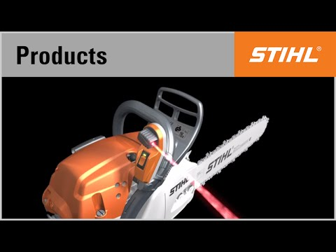 The Stihl Laser 2 In 1 Felling Direction Indicator And