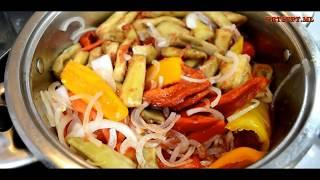 Лечо из перца и баклажан  вкуснейшая заготовка на зиму рецепты в домашних условиях