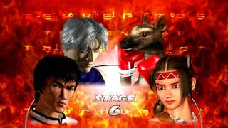 Tekken Tag Tournament HD (PlayStation 3) Arcade as Lee/Law