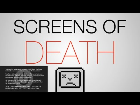 Mac Screens of Death
