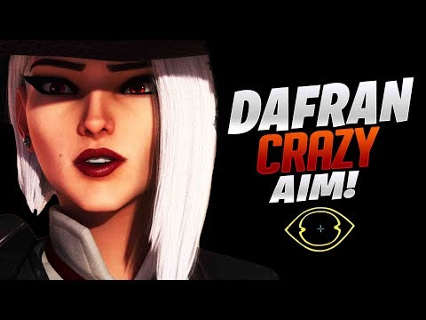 Dafran Crazy Aim On Tracer & Ashe! - Overwatch