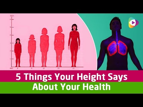 5 Things Your Height Says About Your Health - Health Tips