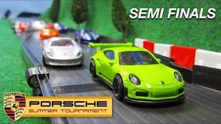 Porsche Tournament Semi Finals Hot Wheels Diecast Car Racing