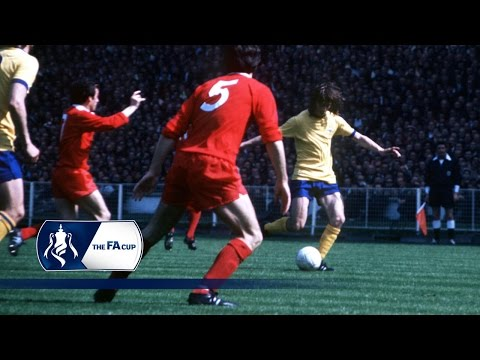 Charlie George Wembley screamer | From The Archive