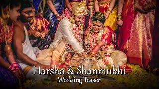 Cinematic Wedding Teaser 2020 || Harsha & Shanmukhi  || A Film By V-Stories || Hyderabad || India