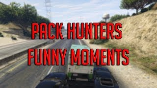 Pack Hunters Funny Moments in GTA