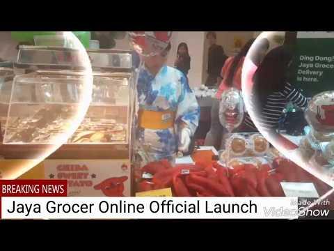 Jaya Grocer Online launch