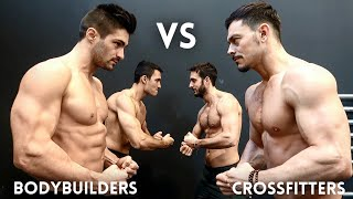 BODYBUILDERS vs CROSSFITTERS! SFIDA ESTREMA!