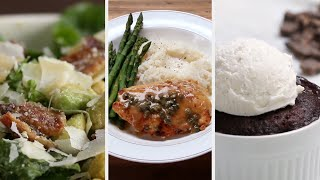 Three-Course New Year's Dinner Party Under 45 Minutes • Tasty