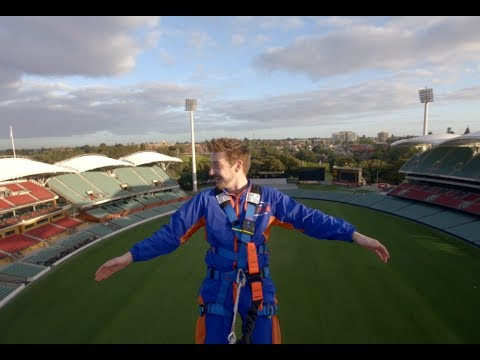 Climbing the roof of Adelaide Oval | Experience Oz + NZ
