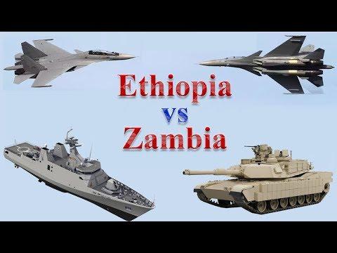 Ethiopia vs Zambia Military Comparison 2017