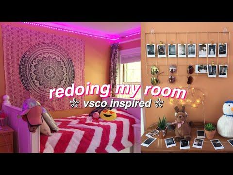 Repeat redoing my room for summer! vsco inspired room decor