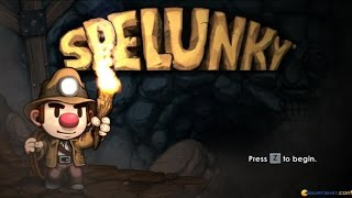 Spelunky gameplay (PC Game, 2013)