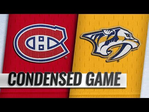 02/14/19 Condensed Game: Canadiens @ Predators