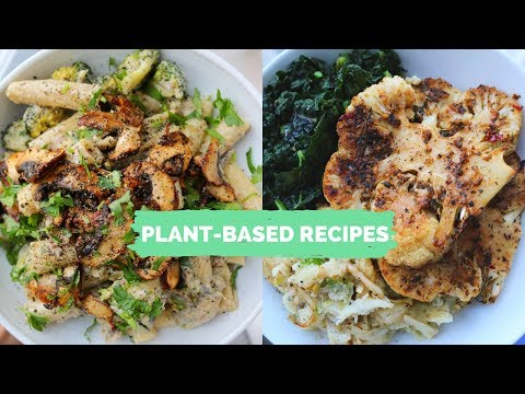New Year PLANT-BASED RECIPES // Cauli Steaks + Creamy Mushroom Pasta