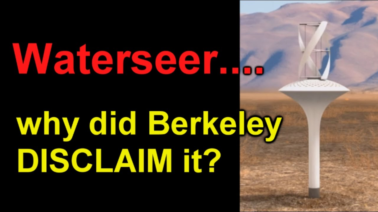 Waterseer Why Did Berkeley Disclaim It Youtube