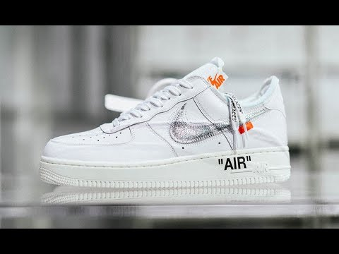 0c4bc8e9ef976 Off-White AF100 Virgil Abloh x Nike Air Force 1 Low White Silver