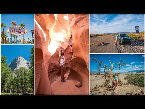 Our Amazing USA Road Trip 2015 | 4K Ultra HD