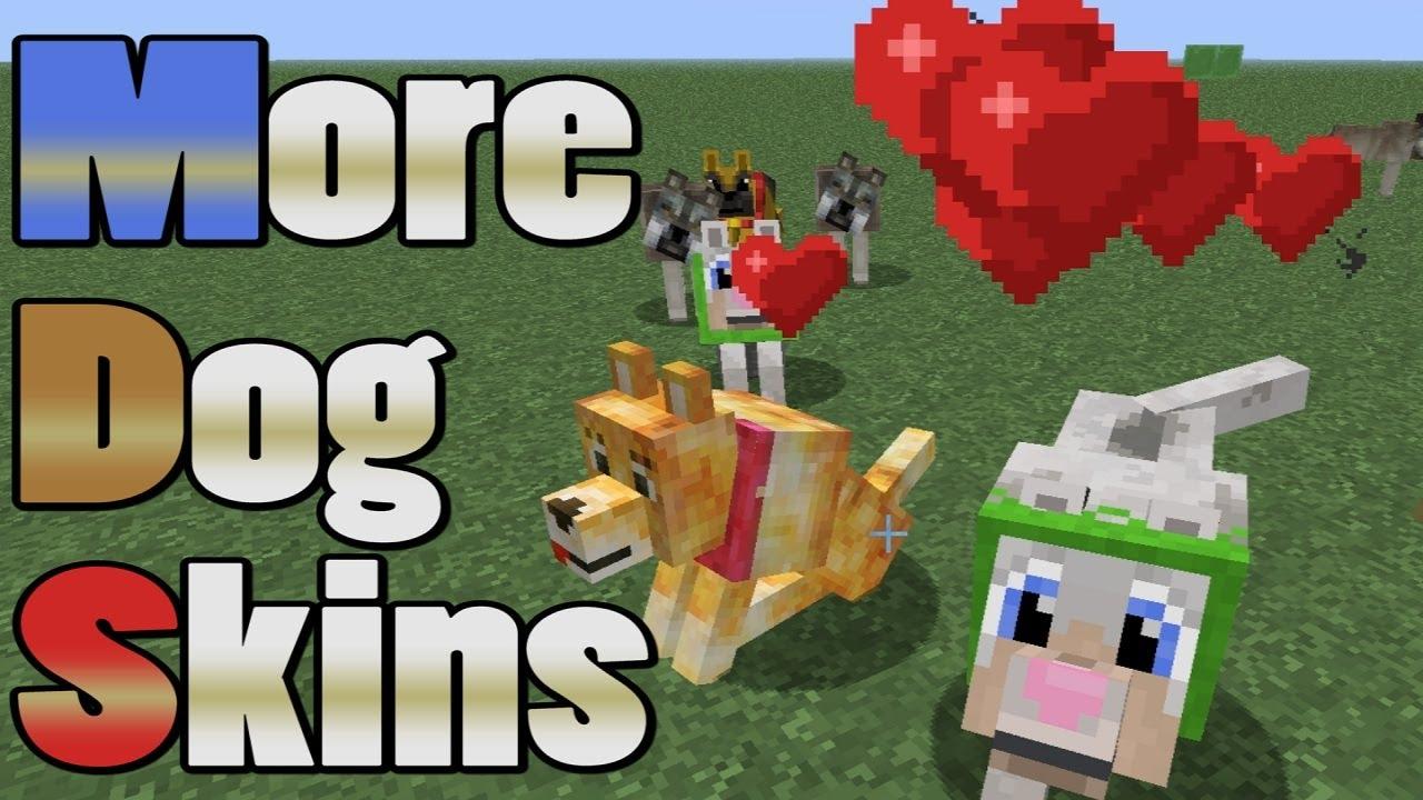 Husky Dog Hd Wallpapers Docm77 S Minecraft Tutorial Multiple Dog Skins Youtube