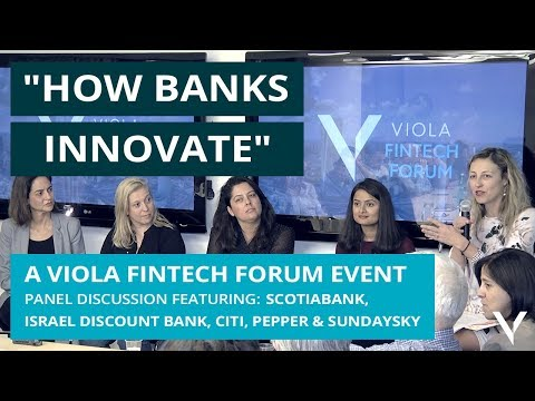 """""""How Banks Innovate"""" with Scotiabank, Citi, Discount Bank and SundaySky"""