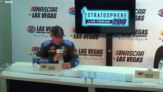 Moffitt On Lapped Traffic In Vegas: 'It'S Uncalled For'
