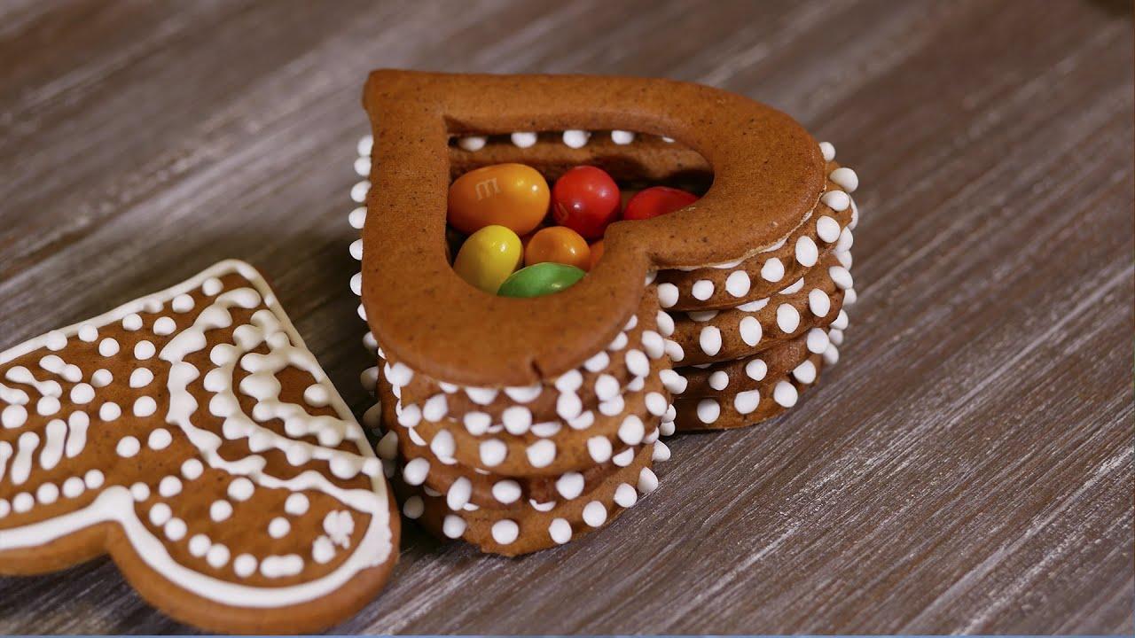 Печенье сердечки ко дню влюбленных. Съедобные валентинки