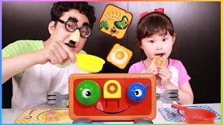 받아라! 토스트 통통!! 라임이의 보드게임 첼린지 로보카폴리 장난감 놀이 LimeTube & Toy 라임튜브