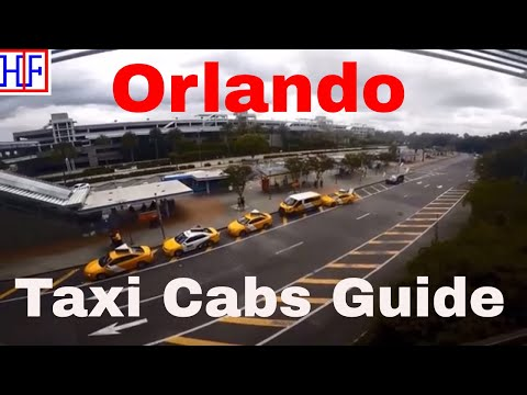 Orlando | Taxi Cabs Info - Getting Around | Travel Guide | Episode# 3