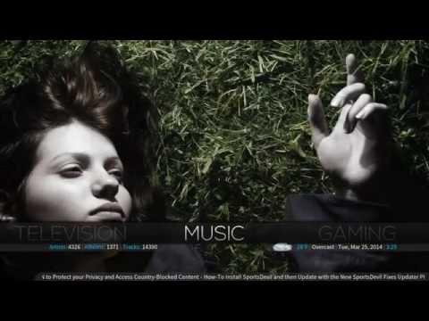 XBMC Demo | Aeon MQ5 Skin