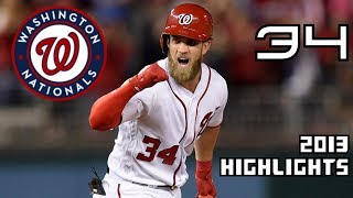 Bryce Harper | 2013 Flashback Highlights ᴴᴰ