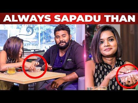 Soru Than Mukkiyam - Soppana Sundari Model Veena Jessi Handbag Secrets | VJ Ashiq