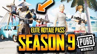 How To Get Elite Royale Pass for Free PUBG MOBILE season 9