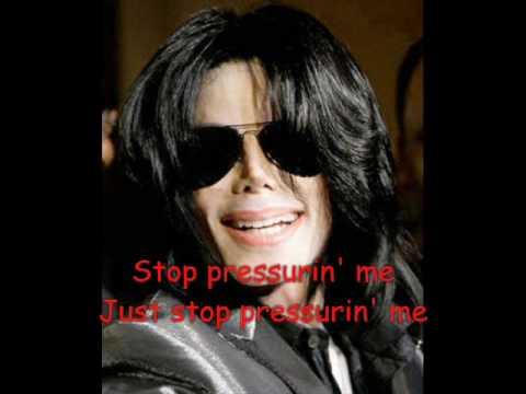 Michael Jackson - Scream Louder (lyrics)