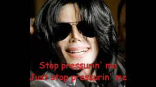 Michael Jackson - Scream Louder (lyrics)