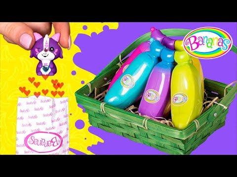 Desembalando Brinquedos Incríveis Com Cheirinho de Banana
